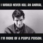 Nikad ne bih ubio zivotinju